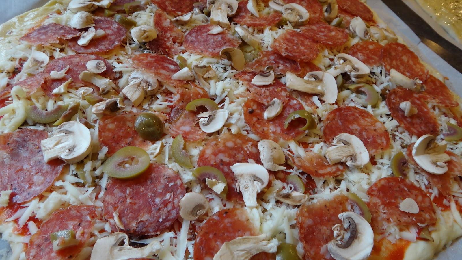 Пицца с грибами пошаговый рецепт с фото - Вкуссовет. ру 14